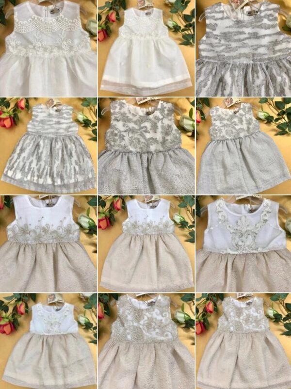 انواع مختلف لباس عروس بچه گانه